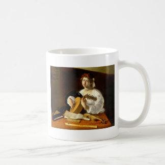 O jogador do alaúde caneca de café