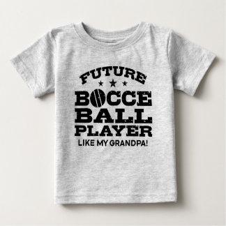 O jogador futuro da bola de Bocce gosta de meu Camiseta Para Bebê