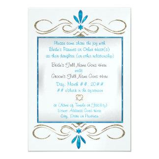 O judaísmo floresce (a cerimónia de casamento) convites