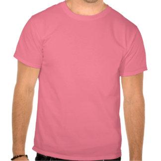 O judeu é a parte traseira nova do preto/Menorah Camisetas