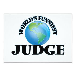 O juiz o mais engraçado do mundo convite
