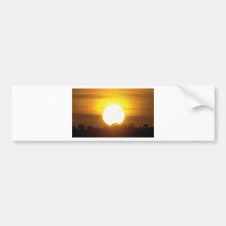 o kground adiciona o por do sol CONHECIDO da FOTO Adesivo Para Carro