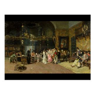 O La espanhol Vicaría do casamento por Mariano For Cartão Postal