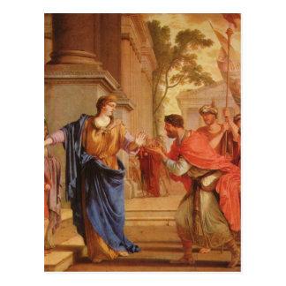 O La Hyre, weist de Laurent de Cornelia morre o Cartão Postal