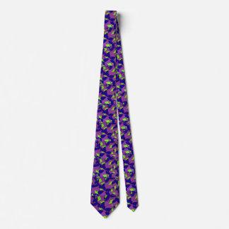 O laço dos homens manchados de seda das folhas gravata