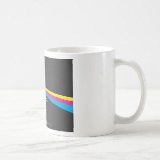 o lado escuro do impressão caneca de café