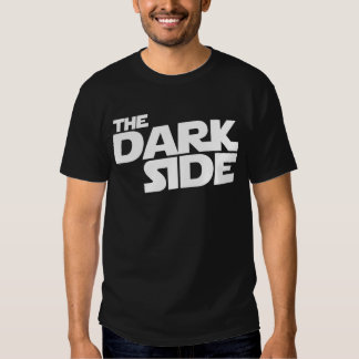 O lado escuro tshirt