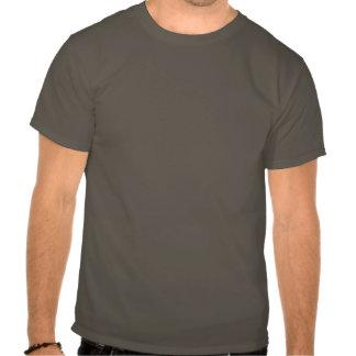 O lama come a torta - camisa escura tshirt