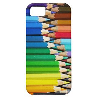 o lápis colore a caixa iphone5 capa para iPhone 5