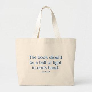 O livro deve ser uma bola da luz