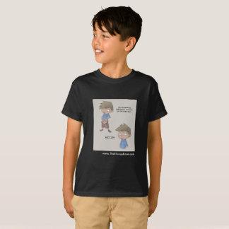 O livro do soluço - t-shirt tagless dos miúdos -