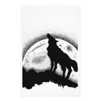O lobo e a Lua cheia Papelaria