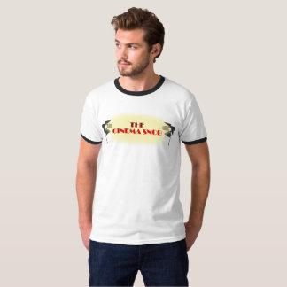 O logotipo do snobe do cinema - a campainha dos tshirts