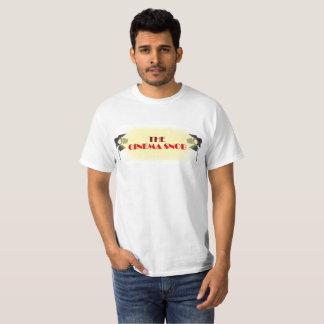 O logotipo do snobe do cinema - camisa branca