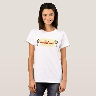 O logotipo do snobe do cinema - o Tshirt das