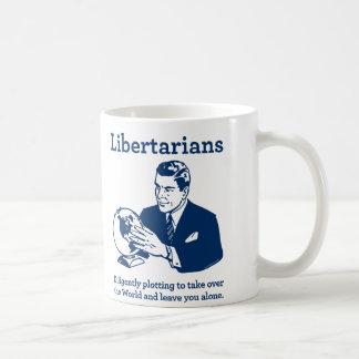 O lote do libertário caneca de café
