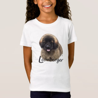O Ludwig da menina o t-shirt do filhote de