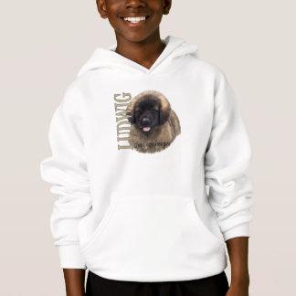 O Ludwig do miúdo o Hoodie do filhote de cachorro Camiseta