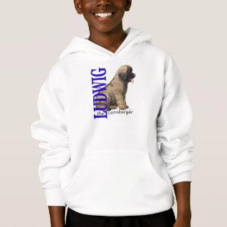 O Ludwig do miúdo o Hoodie do filhote de cachorro T-shirt