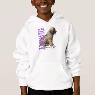 O Ludwig do miúdo o Hoodie do filhote de cachorro T-shirts