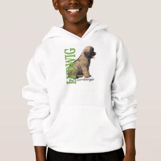 O Ludwig do miúdo o Hoodie do filhote de cachorro Tshirt