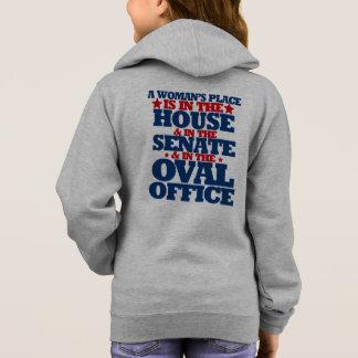 O lugar de uma mulher está na casa e no Senado Camisetas