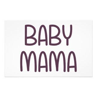 O Mama do bebê (isto é mãe) Papelaria