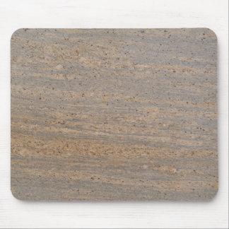 O mármore de Brown rodou Mousepad