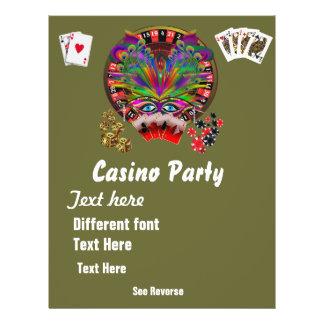 O mascarada 1 dos temas do casino considera notas panfletos personalizado