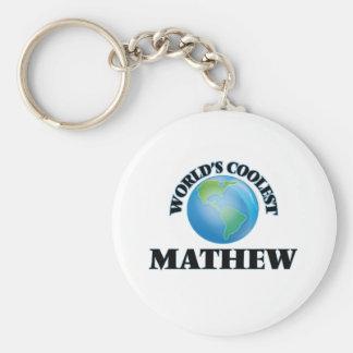 O Mathew o mais fresco do mundo Chaveiros