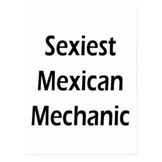 """O mecânico mexicano o mais """"sexy"""" cartão postal"""