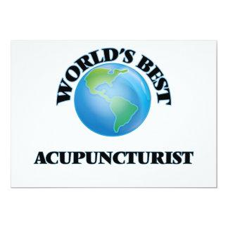 O melhor Acupuncturist do mundo Convites