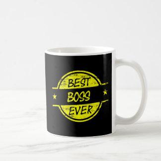 O melhor amarelo do chefe nunca caneca