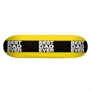 O melhor amarelo do Lg do pai nunca Skateboard