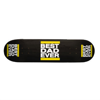 O melhor amarelo do pai nunca skateboard