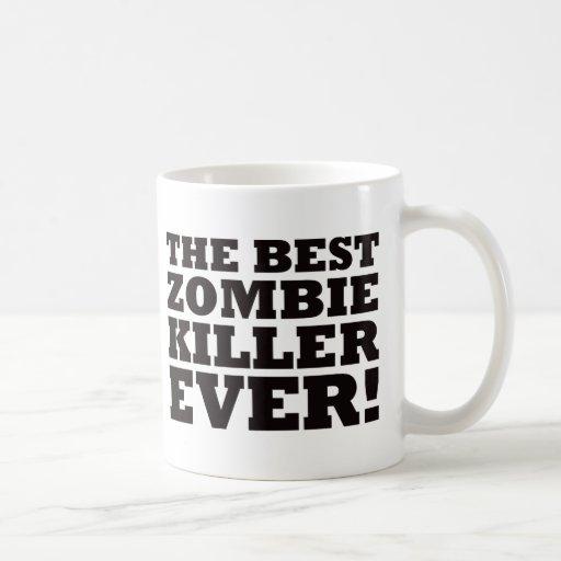 O melhor assassino do zombi nunca canecas