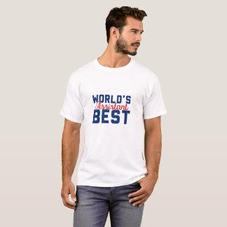 O melhor assistente do mundo tshirt