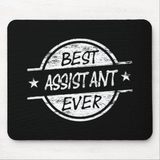 O melhor assistente sempre branco mousepads