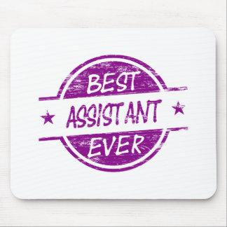 O melhor assistente sempre roxo mousepad