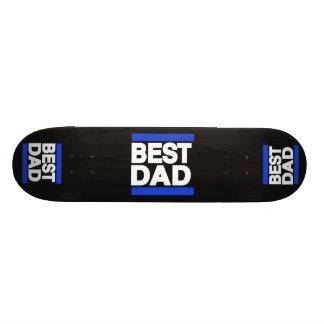 O melhor azul do pai shape de skate 20,6cm