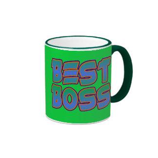 O melhor chefe caneca