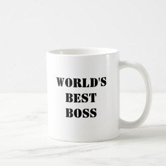 O melhor chefe do mundo caneca