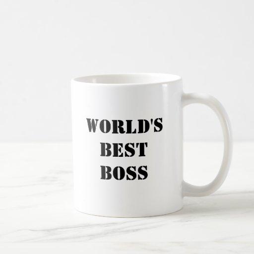 O melhor chefe do mundo canecas