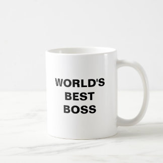 O melhor chefe do mundo caneca de café