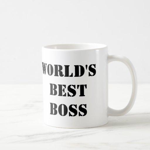 O melhor chefe do mundo do escritório canecas