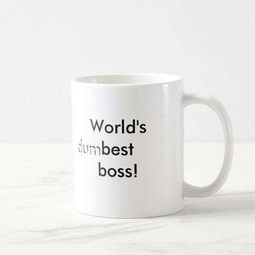 O melhor chefe do mundo (dum) caneca