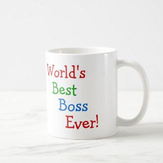 O melhor chefe do mundo nunca caneca de café