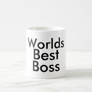 O melhor chefe dos mundos caneca