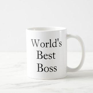 O melhor chefe dos mundos canecas