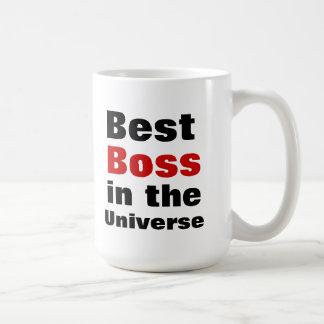 O melhor chefe no universo caneca